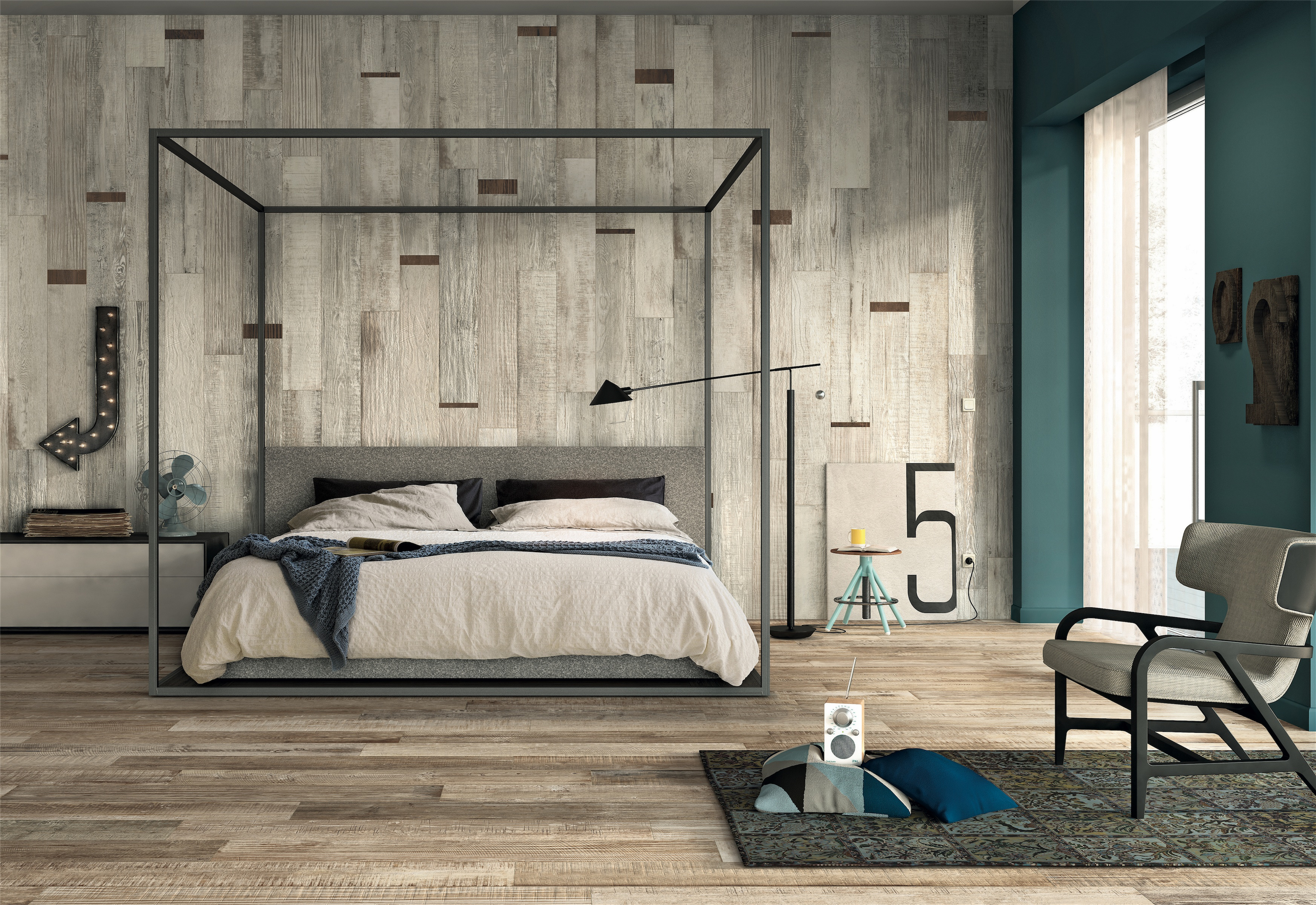 Italgraniti_scrapwood-Bedroom