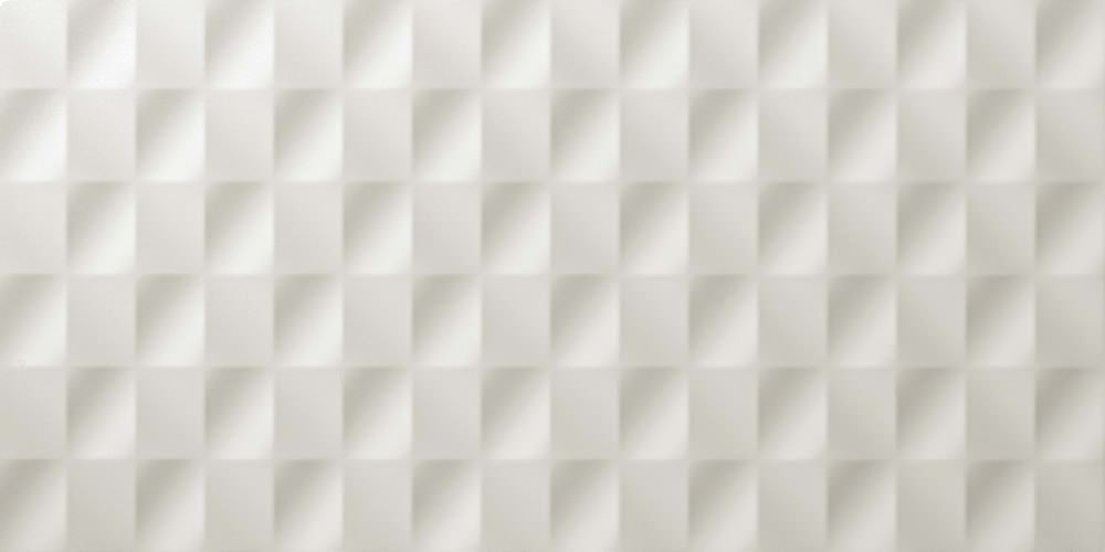 Plytelės 3D Mesh White Matt