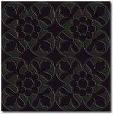 D'antan Fleur Noir 10×10