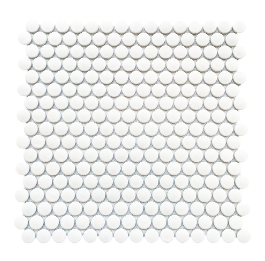 Mozaika 30,6*31,8 06PR WHITE MATT